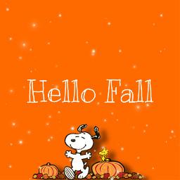 fall snoopy hellofall orange freetoedit autumnflatlay