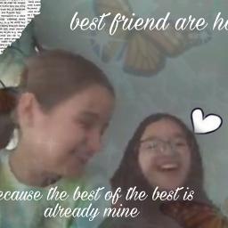 besties bestfriendforever youmakemesmile hardtofind freetoedit