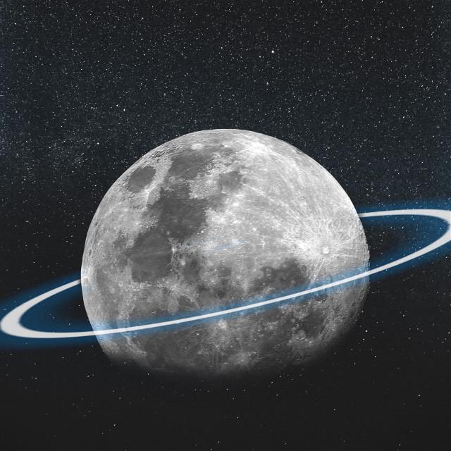 #freetoedit #moon #neon #galaxy