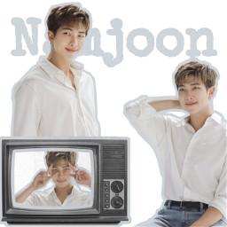 kimnamjoon namjoon rm godofdestruction rapmonster btsleader leader rmpresident k-pop bts whiterm rmwhite freetoedit k