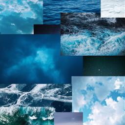 blue moodboard ocean ice sky snow background bluebackground aesthetic blueaesthetic bluesky blueocean bluemoodboard wallpaper freetoedit