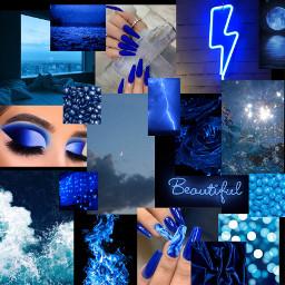 darkblue blue dark black background freetoedit