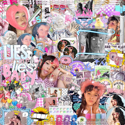 melaniemartinez crybaby dunkin yellowaesthetic person beautiful youtube makeup complexedit aesthetic picsart photo remixit freetoedit