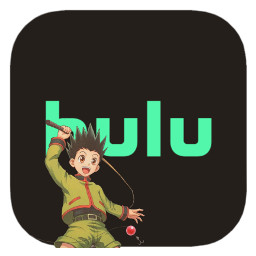 hunterxhunter hxh hulu gon gonfreecs anime app icon appicon ios14 freetoedit