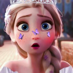 elsa princess disney freetoedit
