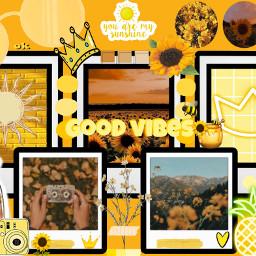 yellow yellowaesthetic freetoedit