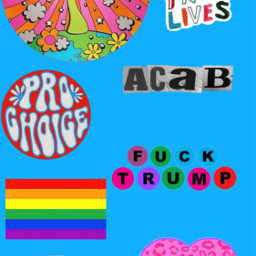 gay pride lgbtq acab blm prochoice ftrump eattherich wallpaper art stickers