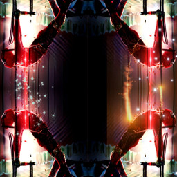 deadpool onstage stage lights chairs dance fire snow mirror mirroring entertainment nycbreal