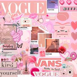 pink vogue pinkaesthetic freetoedit