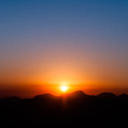 mountain mountains sunset sunshine goldenhour golden hour voteforme voteme freetoedit