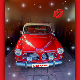 ❤❤❤ volvo myphoto car youngtimer sweden red freetoedit