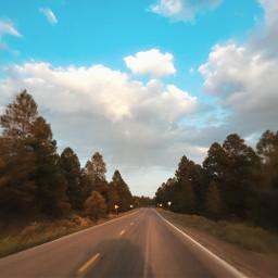 freetoedit road trip sky newmexico