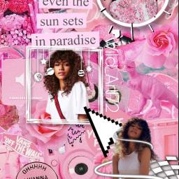 zendaya zendayacoleman zendayaedit zendayaaesthetic aesthetic aestheticedit interesting art stickers pink euphoria ruebennett freetoedit