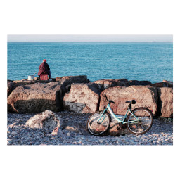 people sea fishing outdoors photography morning sky rocks bike clouds blue photooftheday idk mmm happymoments iwastiredtoobecauseitwasearly but iwoulddoitagain