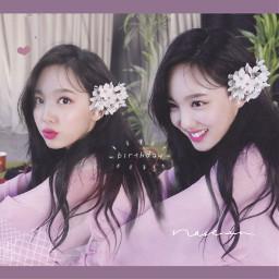 twice 트와이스 nayeon 나연 ナヨン 언니 twicenayeon kpop korea once pink cute beautiful heart flower birthday