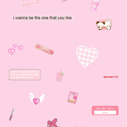 love lovecore cute pink aesthetic background crush😍 crushing sanrio sanriocore kawaii soft softgirl freetoedit crush