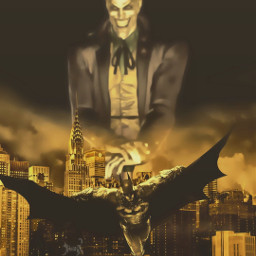 freetoedit batman darknight joker comics dccomics