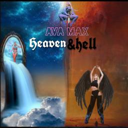 freetoedit avamax hell heaven hellandheaven ecavamaxsheavenandhell