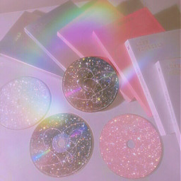 papicks picsart cd bts btsaesthetics btsedit album aestheticedit aesthetic cute pink rainbow glitter heypicsart freetoedit