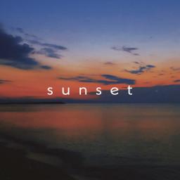freetoedit picsart edit sunset letters colors seaside picsartedits