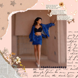 freetoedit fotoedit replay selenagomez selenators aesthetic vintage aestheticvintage wallpaper moon star write flower newspaper sticker