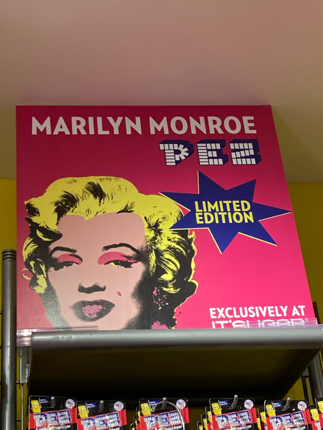 #marilynmonroe #pez #limitededition #candystore  🍬