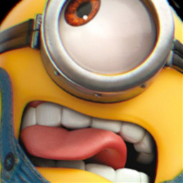 freetoedit remix editedbyme mrlb2000 portrait lol cool awesome minion