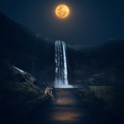 fantasy magical surreal moon sky landscape myedit madewithpicsart picsarteffects freetoedit