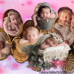 babies cute beautiful tenderness sweet ircbountifulbaskets freetoedit