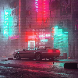 freetoedit background retrowave backtofuture фон назадвбудущее ретро car cyberpunk2077 cyberpunk
