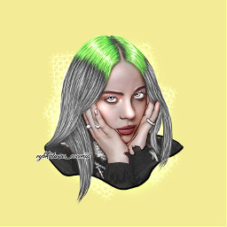 rybkatwinscoconut picsart billieeilish billie eilish freetoedit