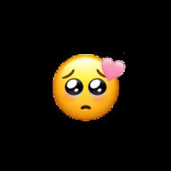 emoji iphoneemoji blushemoji soft heart pinkheart lightheart cute lightblush interesting cuteemoji random sweet softie emojis tiktok people yellow pink freetoedit