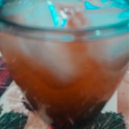 cocktail beverage refreshing peachy saturdayvibes