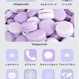 picsart shortcuts pinterest safari widgetsmith pastelpurple fcshowoffyourhomescreen showoffyourhomescreen