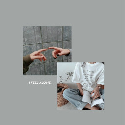 aesthic lonely feelings