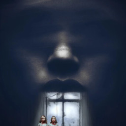 fear horror darkart dark girls freetoedit