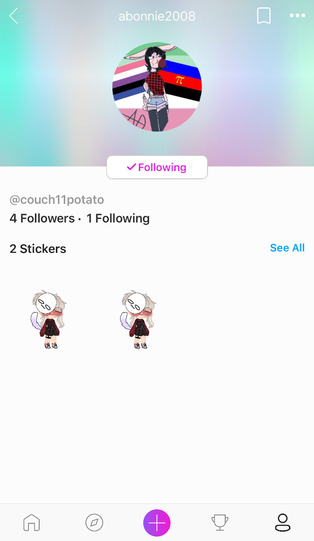 Hey guys: its been about a week, ik, but im here to say: go follow my Cousin!! @couch11potato ill be on and off, so yeH :/ i went through quite a lot of emotions in th oast week so yeah! #oof
