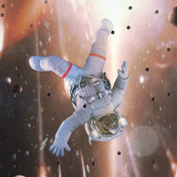 astronaut meteorite glass explotion space ftestickers madewithpicsart picsarteffects