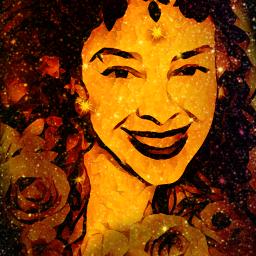 women dame lady seniorita glitter glitzer glimmer glemmer color colorful madewithpicsart remix remixit remixed remixedit bild art kunst kreativ kreatif kreatif_art freetoedit