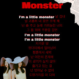 monster seulgiandirene seulgi irene seulgiedit ireneedit kpop kpop_lovers08