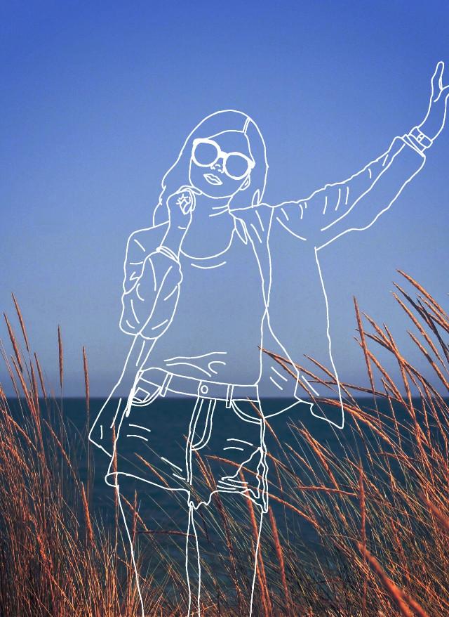 Inspired by @potterhead_04 #outline #drawtools #tracing #editedstepbystep #adjusttool #madewithpicsart