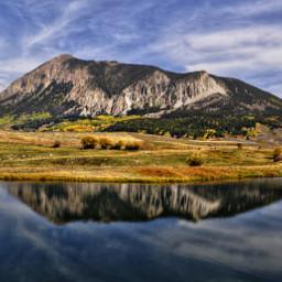 nature naturephotography mountains lake colorful summer colorado