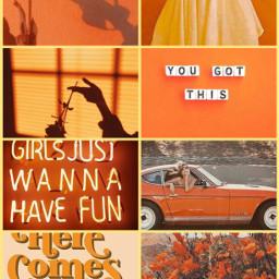 cool ccorangeaesthetic orangeaesthetic