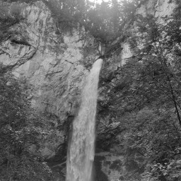 waterfall blackandwhite pcblack&whitenature black&whitenature