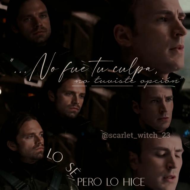 "꧁༺Wᴇʟcoмᴇ тo тнᴇ Housᴇ oғ M༻꧂  I'м Aʀι J, ᴀɴᴅ wᴇʟcoмᴇ тo мʏ cʀᴀzʏ Woʀʟᴅ  》⚠Tнιs ιs ᴀ ᴘʟᴀcᴇ wнᴇʀᴇ ʏou wιʟʟ ғιɴᴅ мᴀɴʏ тнιɴԍs ᴀɴᴅ suʀᴘʀιsᴇs, so ᴅo ɴoт ᴀттᴇɴᴅ⚠《  @lupinbarnes This edit is for you ✨💜    ༄Bᴀsιc ιɴғoʀмᴀтιoɴ✪  ★彡[Wнo? Bucky Barnes and Steve (No Stucky)]彡★ ★彡[Wнᴇʀᴇ? Capitán América Civil War]彡★ ★彡[Wнʏ? Buck deserves to be happy :c]彡★ ★彡[Mooᴅ: //cries// 😭]彡★  ༄Eᴅιт Iɴғoʀмᴀтιoɴ✪  ★彡[Dᴀтᴇ: Tue/sep29/2020]彡★ ★彡[Tιмᴇ: One hour and 30 minutes]彡★ ★彡[Houʀ: 15:40]彡★ ★彡[Tᴇxт: ""No fue tu culpa, no tuviste opción"" Lo sé, pero lo hice, That in English it would be, ""It wasn't you, You didn't have a choice - I know, but I did it""]彡★  ༄Cʀᴇᴅιтs✪  ★彡[Bᴀcκԍʀouɴᴅ: No]彡★ ★彡[Pιcтuʀᴇs: Youtube]彡★ ★彡[Sтιcκᴇʀs: X ]彡★ ★彡[ Iɴsᴘιʀᴇᴅ ʙʏ: @xlaufxyx @hxddlesmcgic @winterbxlle-  ] 彡★    ༄Tᴀԍ ʟιsт✪ @polaris_12 {My siSteR ✨💖} @nbaque_mero17 { My bEst FrieNd✨❤️} @wanda_fanpage  @isabela_zxm  @natalia_romanoff  @lilly_b_  @paaancaaakes  @natkoon9  @cherry_chocolate  @michellejonesmj  @that_sebstan_fan @isabellaroseormrod  @addiegrace5  @avengers_fan_loki  @agraceeee  @tylisha2010  @chonyyyy  @black7widow7wanda7  @s2015p1011  @winterbxlle-  @urnamealreadyexist  @themcuniverse  @paige_england  @sweetxnersky  @infinity_marvel21  @adrianamendez89  @luvfqith  @arg57  @soviet_love  @olive1511  @zendaya_16  @cumbercookieunited  @syyyd3125  @isabela_zxm  @fallenangeldrawings  @phantomghostwhip1  @mbrookegrant6  @super-fandom  @fayhallen  @heehee_hiddles  @-tvsseract-  @-stanlover-  @hcneysweet-  @jxdns_demon-  @prairie_pluvio  @seb-josh-yittle  @_random_wallpapers_  @audrey_rose_holland  @zaynah_shah  @william_aft0n  @lisakrivonos  @blckwidow  @i_dont_wike_it   ❖Iғ ʏou wᴀɴт тo ʙᴇ ᴘᴀʀт oғ мʏ ""Housᴇ oғ M"" coммᴇɴт {🌌}❖ ❖Iғ ʏou ɴo ʟoɴԍᴇʀ wᴀɴт тo ʙᴇ ᴘᴀʀт oғ ιт, coммᴇɴт {🔮}❖ ❖Iғ ʏou cнᴀɴԍᴇᴅ ʏouʀ ɴᴀмᴇ, coммᴇɴт {☄️} Aɴᴅ тᴇʟʟ мᴇ ʏouʀ ɴᴇw usᴇʀ!❖  ༄Aʙouт мᴇ ✪  ┋Sнᴇ/нᴇʀ┇ Tнᴇʀᴇ ᴀʀᴇ ᴅᴀʏs wнᴇɴ I ᴀм soмᴇoɴᴇ wιтн ᴘowᴇʀs oғ ᴀ ᴘᴇcuʟιᴀʀ scᴀʀʟᴀтᴀ тoɴᴇ, soмᴇтιмᴇs I ιɴғιʟтʀᴀтᴇ ᴘʟᴀcᴇs, ʙᴇcᴀusᴇ I ᴀм ᴀ Russιᴀɴ sᴘʏ, I ᴀм ᴀ Wιɴт"