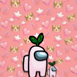 amongus among us pink pinkaesthetic cozy cozyaesthetic aesthetic emojis emoji pastelpink pastelaesthetic y2kaesthetic indieaesthetic indie alt interesting california nature game freetoedit