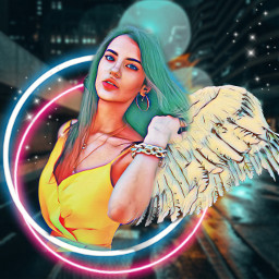 cartoon interesting createfromhome creative remix remixme remixedwithpicsart remixboard edit editme girl beautiful angel picsart picsarteffects try tryit edit2020 freetoedit freetoeditremix magic magical wings feathers lights
