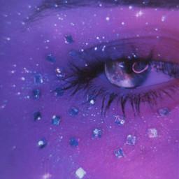 picsart heypicsart makeawesome galaxy eye euphoria galaxyeye galatic stars neon moon bokeh vynl noise surreal surrealism freetoedit