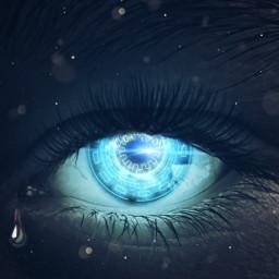 mastershoutout eye surreal photomanipulation glowingeyes edited dodgereffect brusheffect lensflare madewithpicsart freetoedit