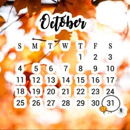 unsplash fall october calender fallleaves freetoedit